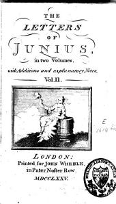 Letters of Junius: Volume 2