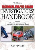 Technical Traffic Crash Investigators  Handbook PDF