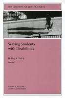 Serving Students with Disabilities PDF
