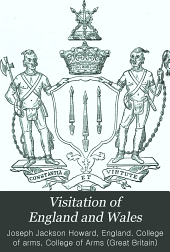 Visitation of England and Wales: Volume 13