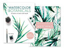 Watercolor Botanicals  2 Books In 1  PDF