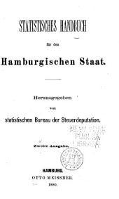 Statistiches Jahrbuch, freie und Hansestadt Hamburg: Band 2