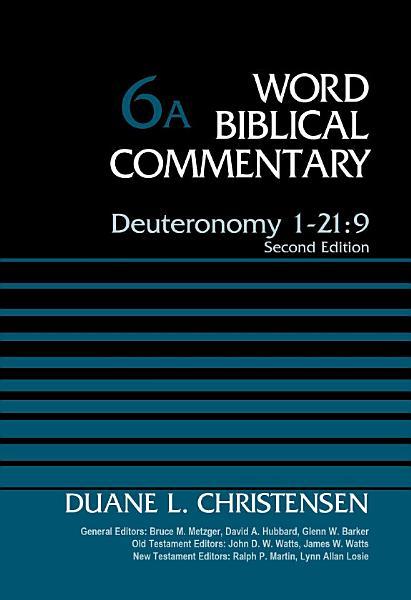 Deuteronomy 1 219 Volume 6a