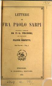 Lettere, raccolte e annotate da F.-L. Polidori: Volume 1