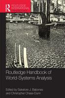 Routledge Handbook of World Systems Analysis PDF
