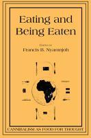 Eating and Being Eaten PDF
