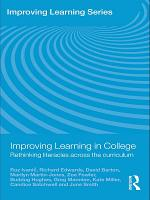 Improving Learning in College PDF