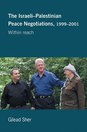 Israeli Palestinian Peace Negotiations  1999 2001