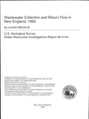 Wastewater Collection and Return Flow in New England  1990