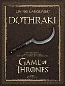 Living Language Dothraki  Lehrbuch   CD PDF
