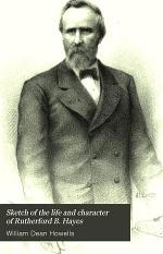 Sketch of the Life and Character of Rutherford B. Hayes