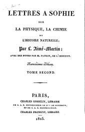 Lettres a Sophie: sur la physique, la chimie et l'histoire naturelle, Volume2
