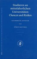 Studieren an Mittelalterlichen Universit  ten PDF
