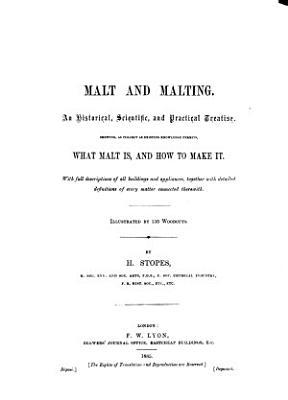 Malt and Malting