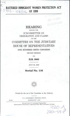 Battered Immigrant Women Protection Act of 1999 PDF