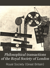 Philosophical Transactions of the Royal Society of London: Containing papers of a mathematical or physical character, Volume 207