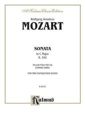 Sonata in C Major, K. 545: Piano Duo (2 Pianos, 4 Hands)
