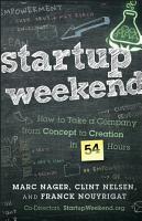 Startup Weekend PDF
