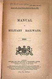 Manual of Military Railways: 1889