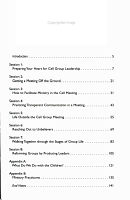 Cell Group Leader Training PDF