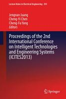Proceedings of the 2nd International Conference on Intelligent Technologies and Engineering Systems  ICITES2013  PDF