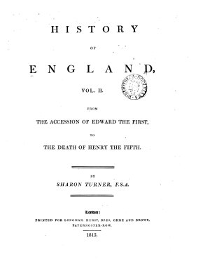 History of England  from the Norman Conquest  to the Accession of Edward the First  From the accession of Edward the First to the death of Henry the Fifth PDF