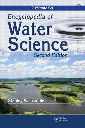 Encyclopedia of water Science