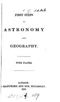 First steps to astronomy and geography PDF