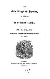 The old English squire, a song by Stephen Oliver