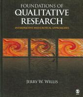 Foundations of Qualitative Research PDF
