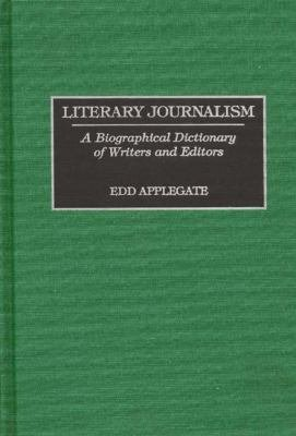 Download Literary Journalism Book