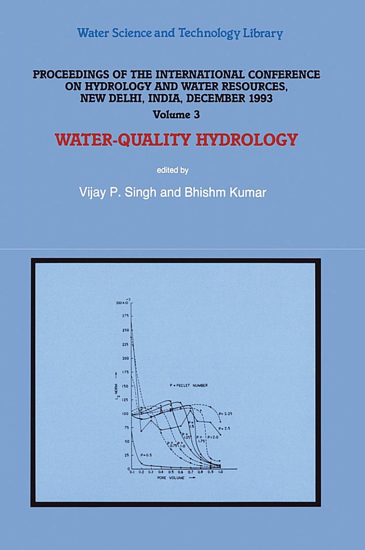 Water-Quality Hydrology
