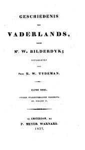 Geschiedenis des vaderlands: Tweede stadhouderlooze regeering en Willem IV, Volume 11