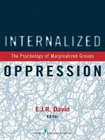 Internalized Oppression PDF