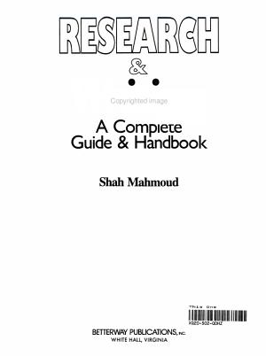 Research   Writing PDF