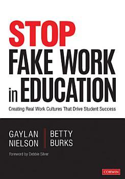 Stop Fake Work in Education PDF