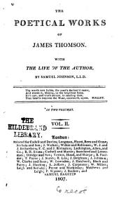 The Poetical Works of James Thomson: With the Life of the Author, Volume 2