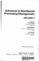 Advances in Distributed Processing Management PDF