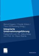 Integrierte Unternehmensf  hrung PDF