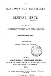 Handbook for travellers in central Italy [by O. Blewitt].
