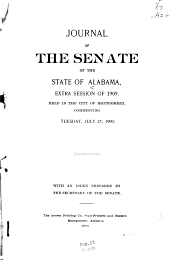 Journal of the Senate of the State of Alabama