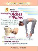 5 Steps towards Managing Aches and Pains PDF
