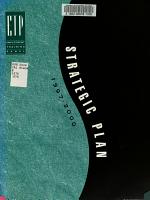 Strategic Plan  1997 2000 PDF