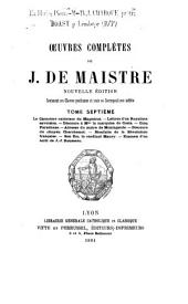 Oeuvres complètes : Volume7