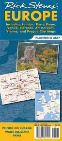 Rick Steves  Europe Planning Map