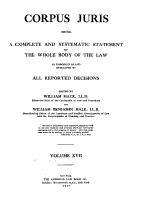 Corpus Juris PDF