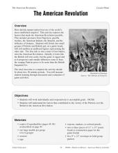 Hands-On History--The American Revolution