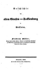 Geschichte der alten Grafen von Tecklenburg in Westfalen