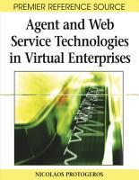 Agent and Web Service Technologies in Virtual Enterprises PDF