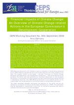 Financial Impacts of Climate Change